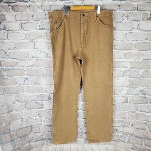 Wrangler Cowboy Cut Jean Tan Size 40 x 32